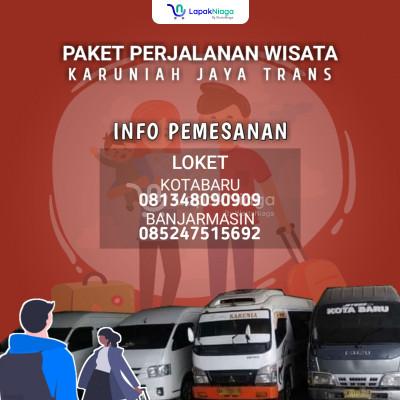 melayani tranportasi banjarmasin kotabaru pp dan paket wisata kotabaru