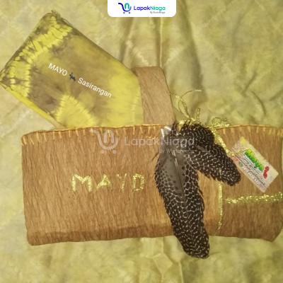 Kain sasirangan alam , ecoprint & craft