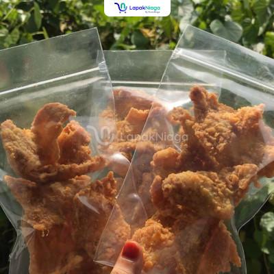 Kulit Ayam Crispy dan Usus Crispy