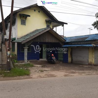 Dijual rumah 2 lantai pinggir jalan (SHM)