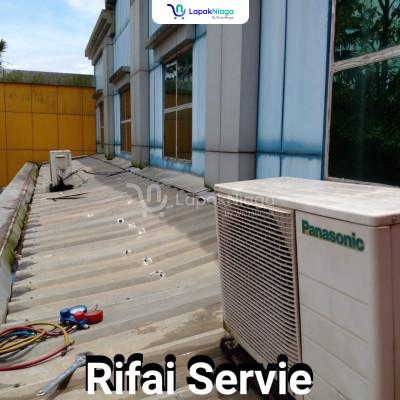 Service AC, kulkas, mesin cuci, kipas angin, pompa air dll