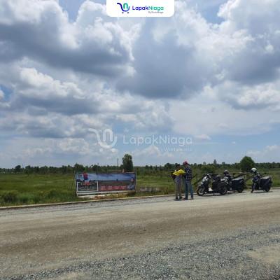 Kavling Murah Pinggir Jalan Besar