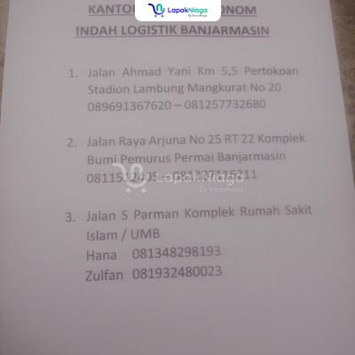 INDAH CARGO PENGIRIMAN BARANG PAKET BARANG PINDAHAN MOTOR SE INDONESIA